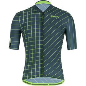 Santini Plus Sleek Dinamo Shortsleeve Jersey Men military green